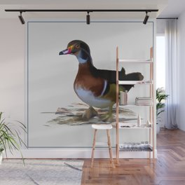Duck Profile Left Wall Mural