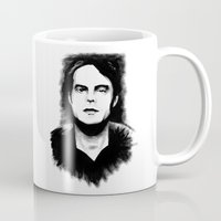 snl Mugs featuring DARK COMEDIANS: Bill Hader by Zombie Rust