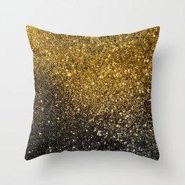 Ombre glitter #5 Throw Pillow