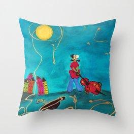 Peintre 1 Throw Pillow