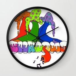 Shroooooms Wall Clock