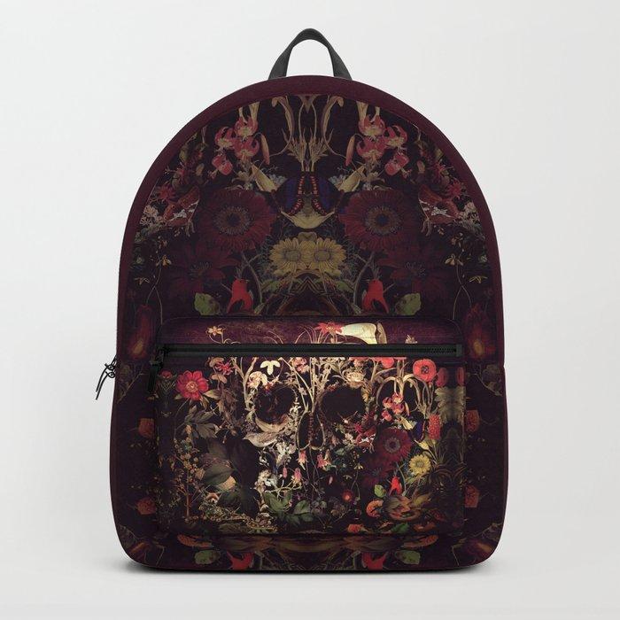 Bloom Skull Rucksack