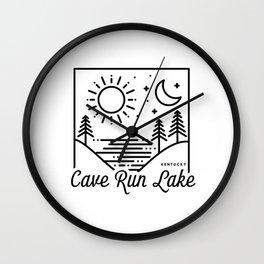 Cave Run Lake Kentucky Wall Clock