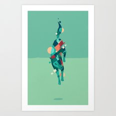 Movement 03 Art Print