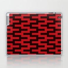 Black & Red Zigzag Laptop & iPad Skin
