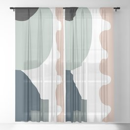 Shape study #18 - Stackable Collection Sheer Curtain