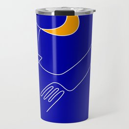 Keep your dreams alive, Conquer The Moon! Travel Mug