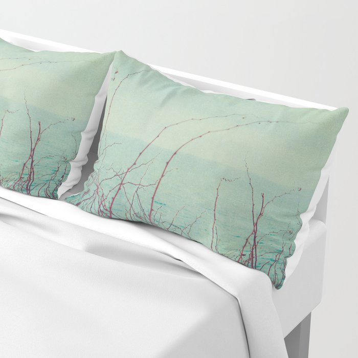 She Would Float and Stare at the Sky Pillow Sham
