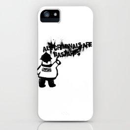 All Cops iPhone Case