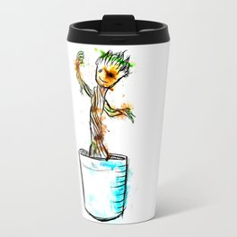 Watercolour Groot Travel Mug