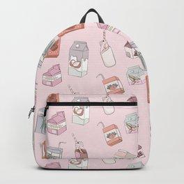 Alternative Milk Pattern Backpack