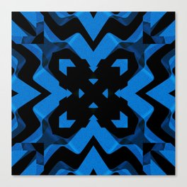 blued Canvas Print