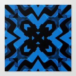 blued Canvas Print
