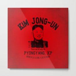Kim Jung-Un University Metal Print