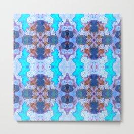 222 - Colour abstract design Metal Print