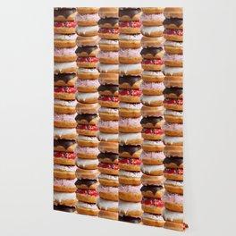 LOVE MY CHOCOLATE  DONUTS & COOKIES Wallpaper