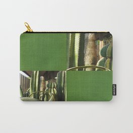 Cactus Garden Blank Q5F0 Carry-All Pouch