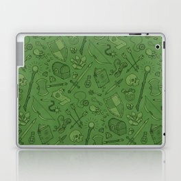 Inventory in Green Laptop & iPad Skin