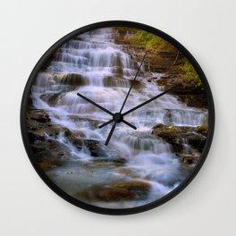 Minnehaha Falls, GA Wall Clock