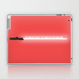 Quote from a Lightsaber - Darth Vader Laptop & iPad Skin