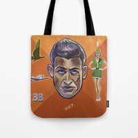 pilot Tote Bags featuring Pilot by Terry Luc