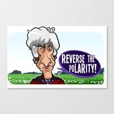 Reverse the Polarity Canvas Print