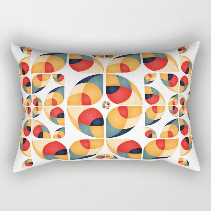 Fantasy Garden Pattern II Rectangular Pillow