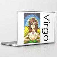 virgo Laptop & iPad Skins featuring Virgo by TammyWitzens