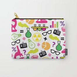 Neon Scientist Carry-All Pouch