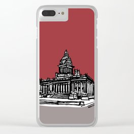 Leeds Town Hall Clear iPhone Case