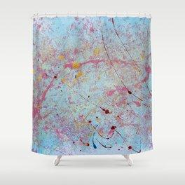 BLUE WONDERLAND Shower Curtain