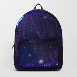 Zodiac neon signs — Libra Backpack