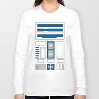 r2d2 Long Sleeve T-shirts featuring R2D2 by Alison Lee