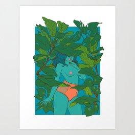 plantae i Art Print
