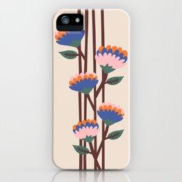 Henri Flowers iPhone Case