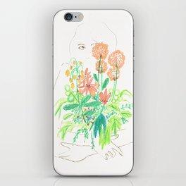 Flower flower iPhone Skin