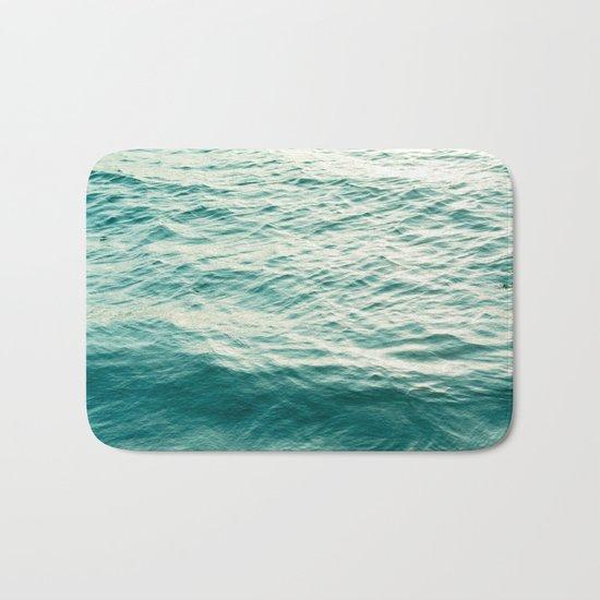 Blue Water Bath Mat