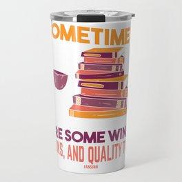 Mama Wine Mother's book gift Travel Mug