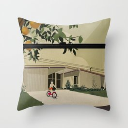 Bikes are for the summer Throw Pillow