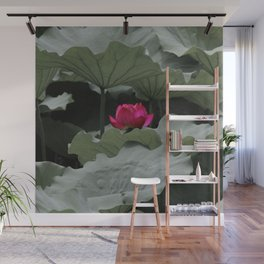 Nature's Pink Wall Mural