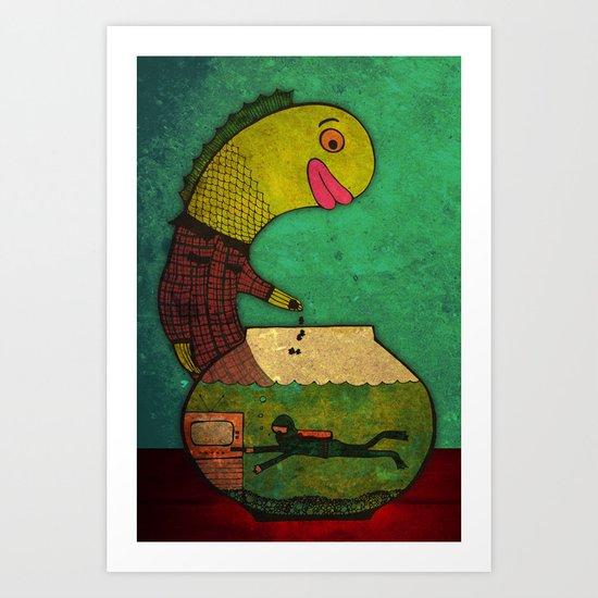one lost soul Art Print