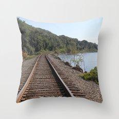 A little R&R Throw Pillow