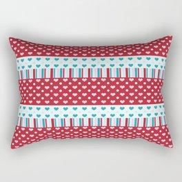 Charmed Hearts Rectangular Pillow