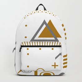San Diego 1989 - Memphis Style Throwback Retro 1990s 80s Trendy Hipster Pattern Eighties Backpack