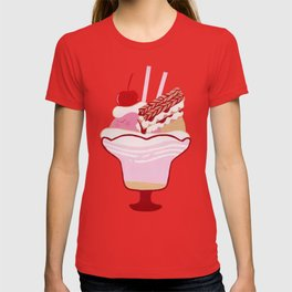 Strawberry Mille-Feuille Parfait T-shirt