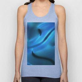 Blue silk art Unisex Tank Top