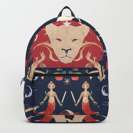 The Medieval Menagerie  Backpack