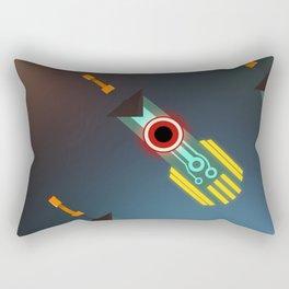 Transistor Swords Rectangular Pillow