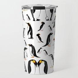 Penguin pattern Travel Mug