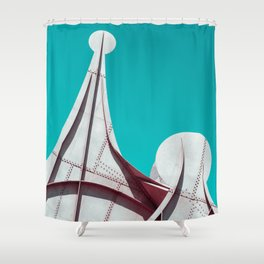 Surreal Montreal 4 Shower Curtain